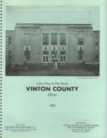 Title Page, Vinton County 1980